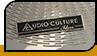"""Шильд """"Audio Culture"""""""