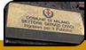"""Табличка """"Comune di Milano"""""""
