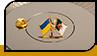 """Значок """"Украина и Алжир"""""""