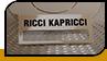 """Бейдж """"Ricci Kapricci"""""""