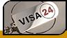 "Брелок ""Visa 24"""